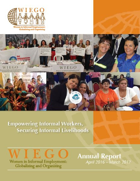 WIEGO Annual Report 2015-2016
