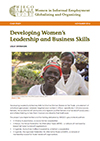 Leadership & Business Skills for Informal Women Workers in Fair Trade