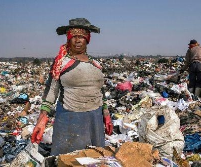waste picker South Africa