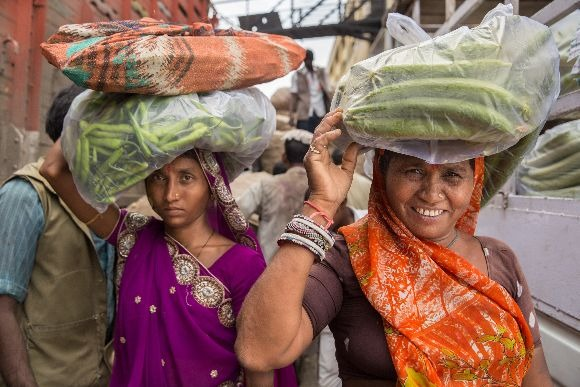 Market porters in India