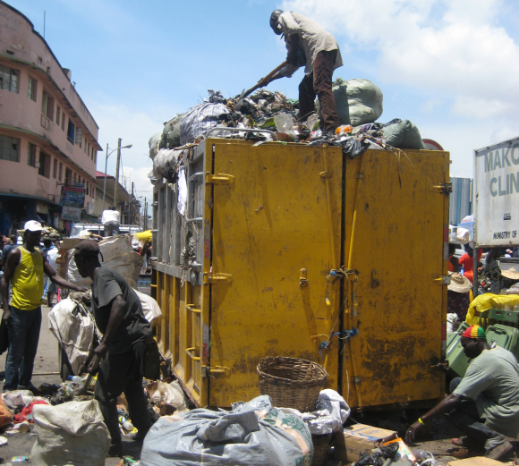 Waste management in Accra