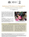 Informal Workers in Bangkok: Considerations for Policymakers