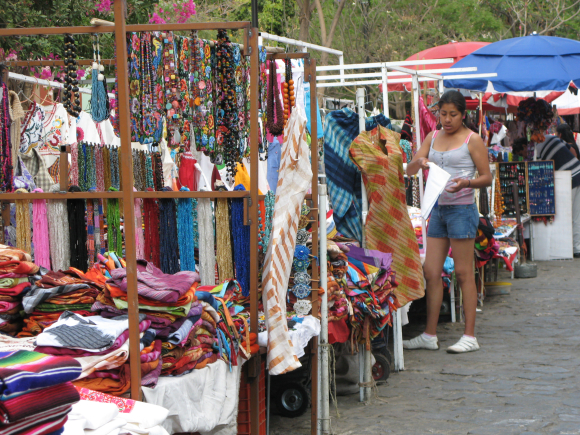 Street vendors in Mexico