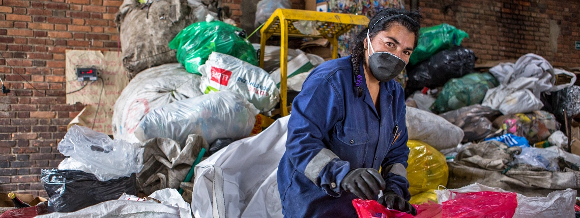 waste picker colombia Juan Arredondo