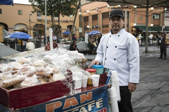 Coffee Vendor in Mexico City