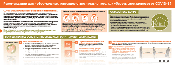 poster Covid-19 street vendor safety русский thumbnail