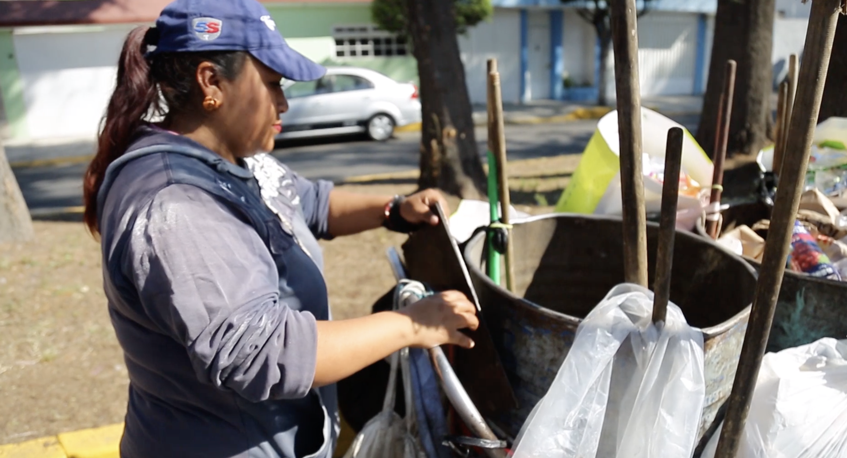 Waste pickers in Mexico