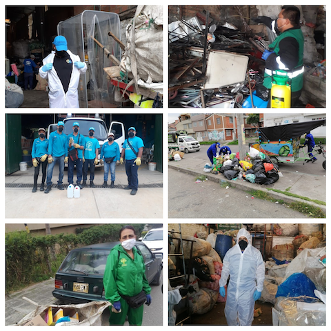 Waste pickers in Colombia during COVID-19 crisis