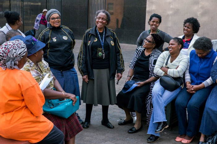 Domestic workers in Joburg union meeting
