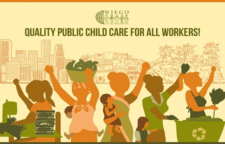 WIEGO Child Care Campaign poster