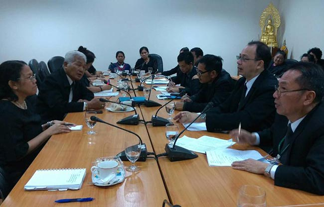 HomeNet Thailand meets with Ministry of Labour on HBW Day