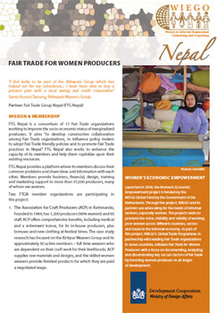 Fact Sheet on Fair Trade in Nepal