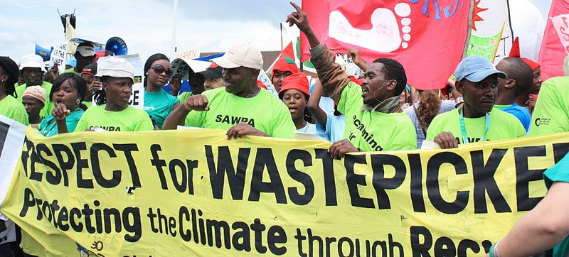 waste pickers protest