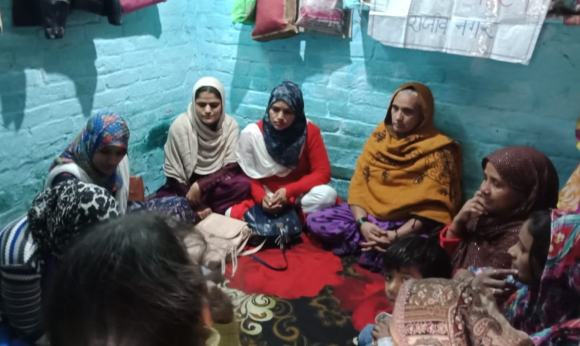 Home-based workers of Rajiv Nagar