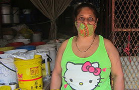 Romilla Chetty, the first woman in her family to run the vendor business in South