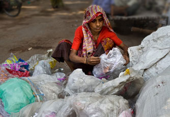 waste picker woman