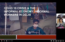 Webinar video thumbnail Moving from Relief to Recovery in Delhi