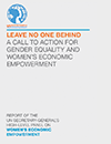 UN Report #1 - A Call to Action for Gender Equality