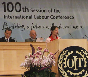 Domestic Workers Campaign at ILO