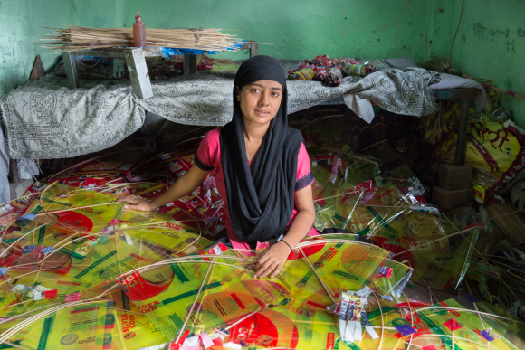 Home-based kite maker