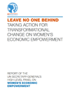 UN Report #2 - A Call to Action for Gender Equality