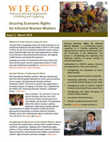 Securing Economic Rights for Informal Women Workers - Newsletter