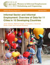 Informal Sector and Informal Employment: Data Overview