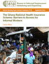 Ghana National Health Insurance Scheme: Barriers to Access for Informal Workers