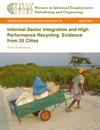 Informal Sector Integration and High Performance Recycling