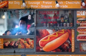 New York City food truck vendor
