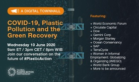 COVID-19, Plastic Pollution and the Green Recovery Virtual Townhall