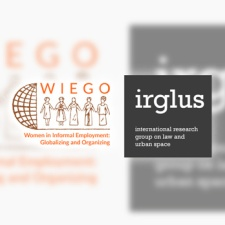 WIEGO and irglus logos